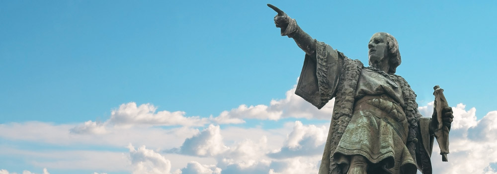 Columbus Barcelona statue