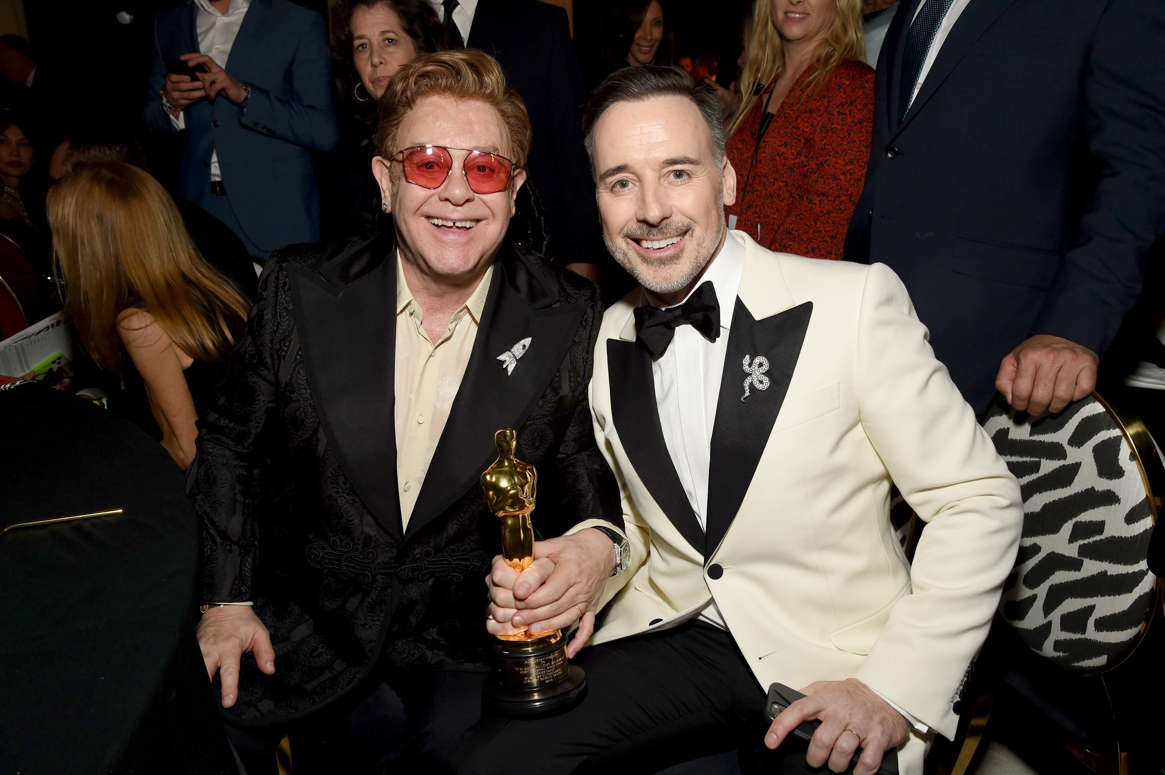 Positively Aware: Elton John and David Furnish by Michael Kovac