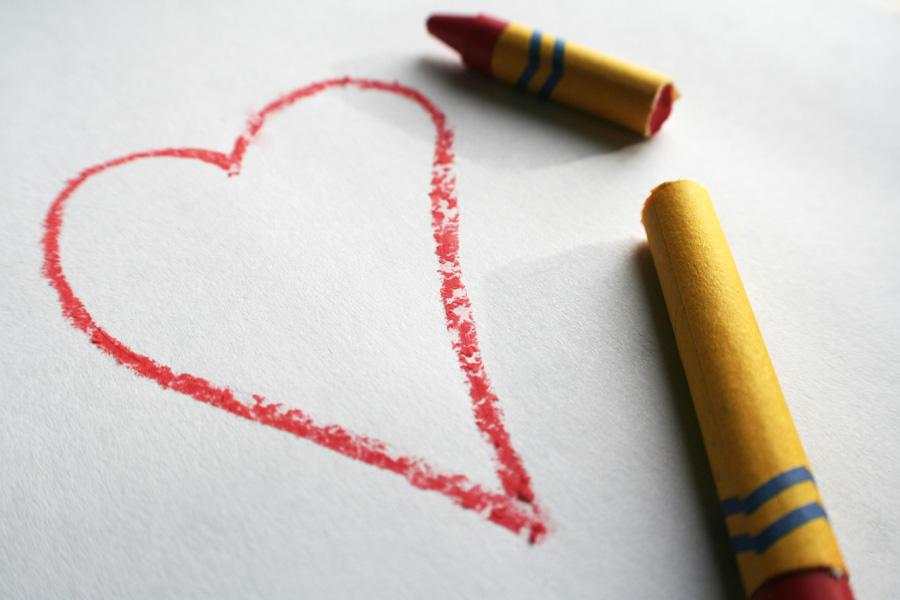 Positively Aware: Broken Crayons