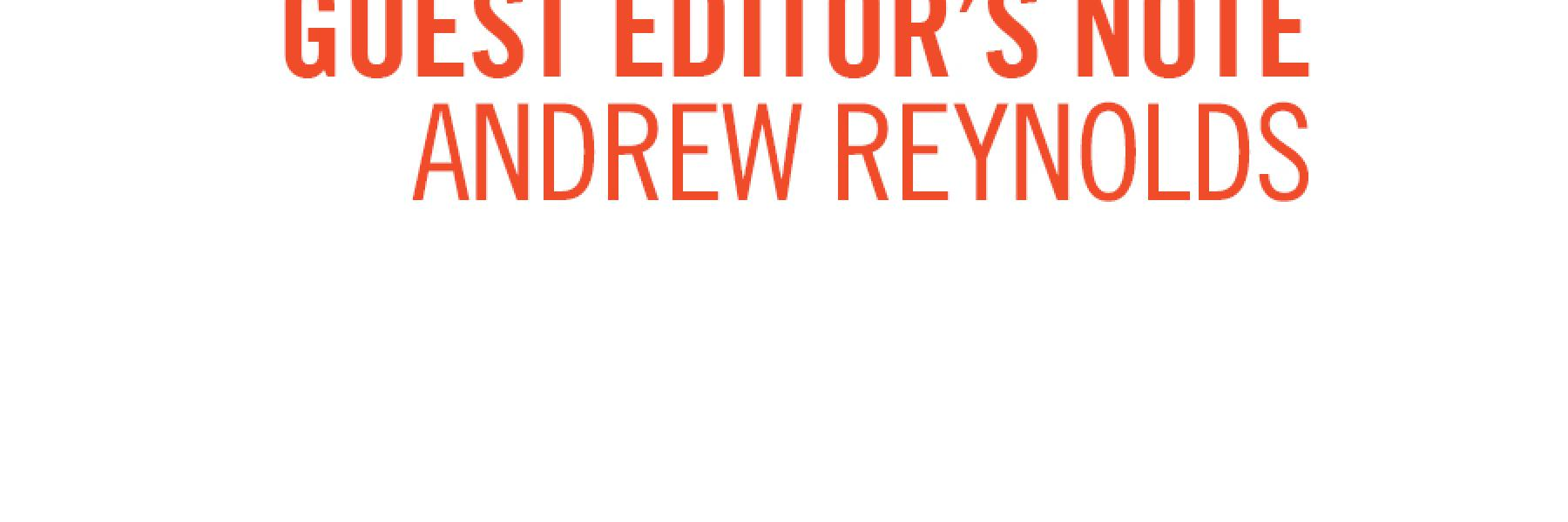 Positively Aware Guest Editors Note