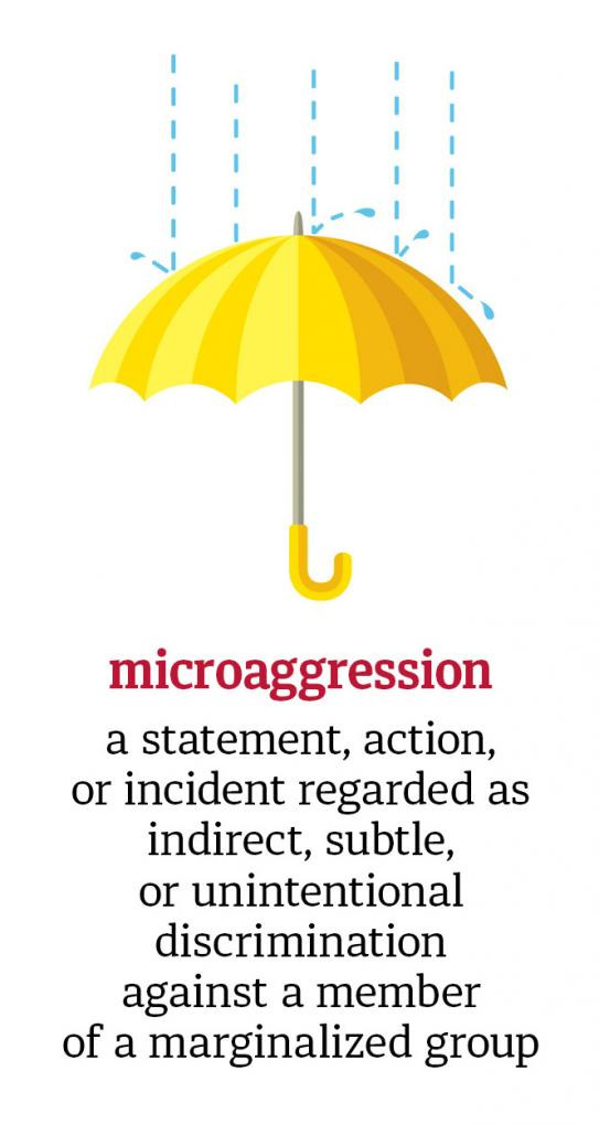 Positively Aware: Microaggression