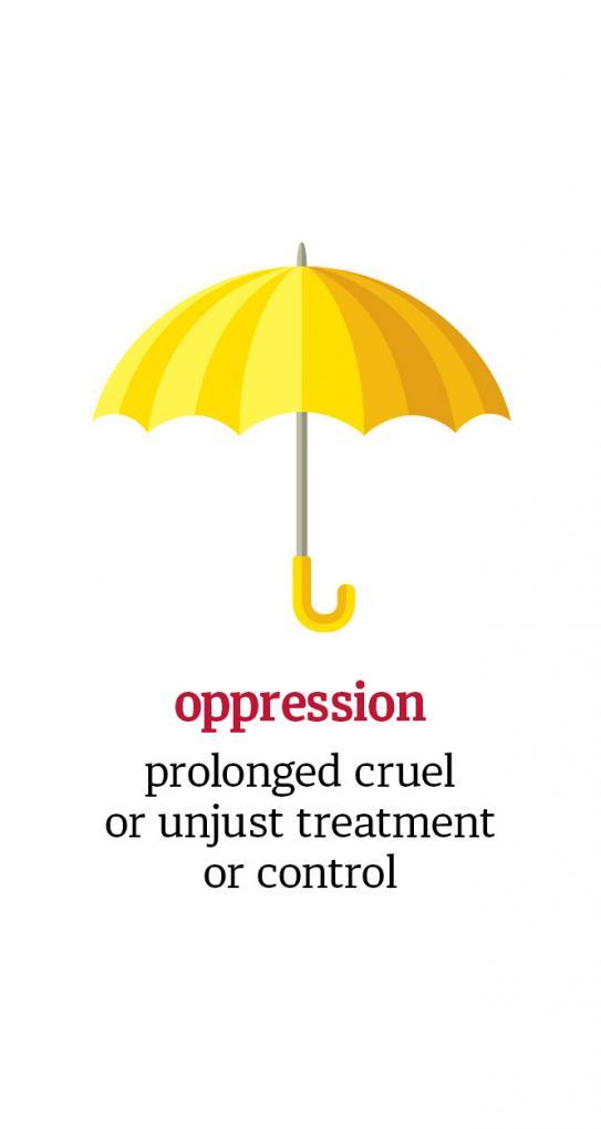 Positively Aware: Oppression umbrella