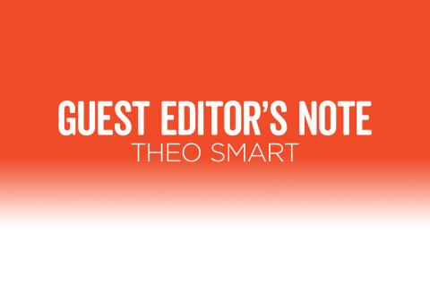 Positively Aware Guest Editor Theo Smart