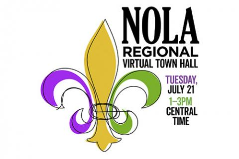 The Reunion Project NOLA Regional Virtual Town Hall image