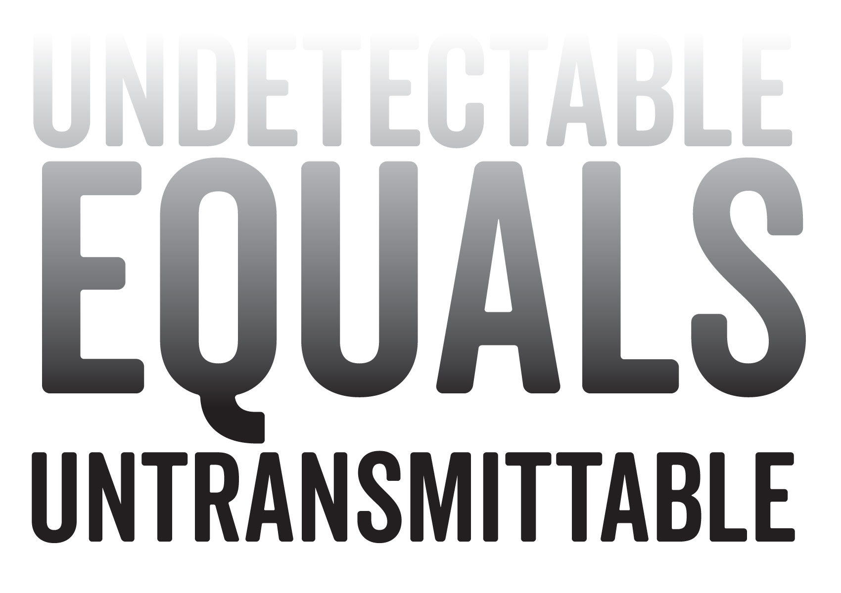 Positively Aware Undetectable Equals Untransmittable
