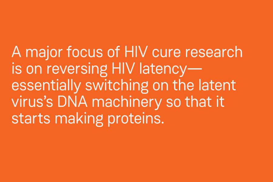 New strategies target dormant HIV