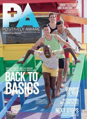 Positively Aware September October 2017 Cover