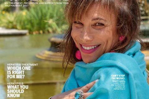 Positively Aware Jul+Aug 2017 Cover
